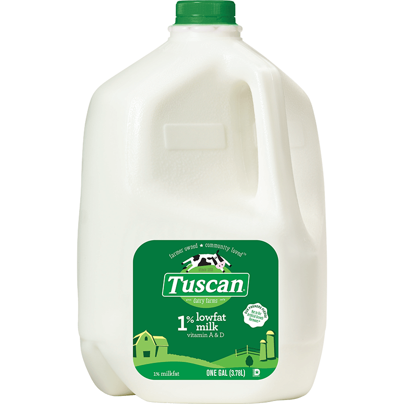 1% Lowfat Milk Plastic Gallon
