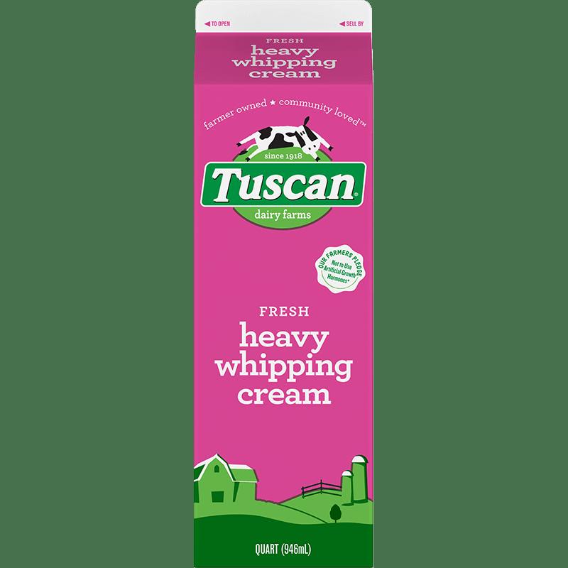 Heavy Whipping Cream Paper Quart